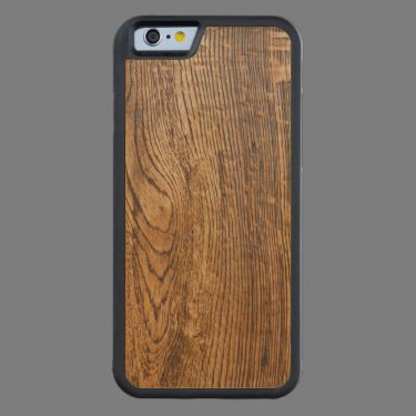 Old wood grain look carved® maple iPhone 6 bumper