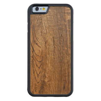 Old wood grain look carved maple iPhone 6 bumper case
