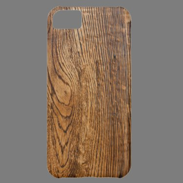 Old wood grain look cover for iPhone 5C