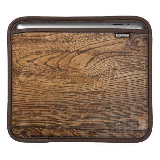Old wood grain look sleeve for iPads