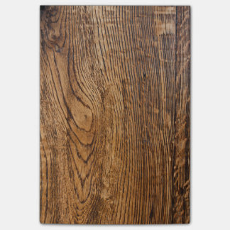 Old wood grain look post-it® notes