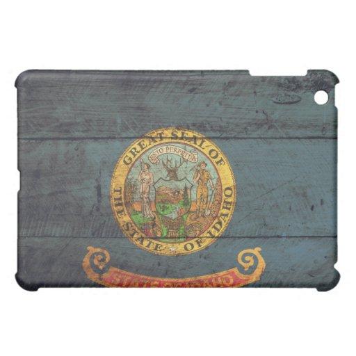 Old Wood Idaho Flag; iPad Mini Case