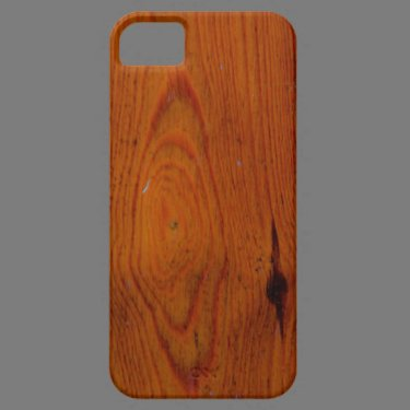 Old wood iPhone 5 case
