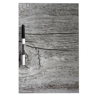 Old wood pattern Dry-Erase whiteboard