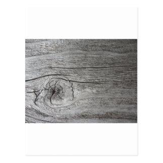 Old wood pattern postcard