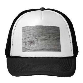 Old wood pattern trucker hat