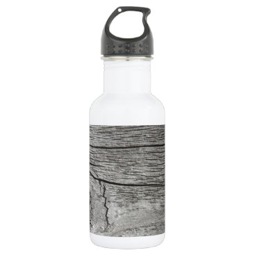 CellPhoneMadness Old wood pattern water bottle
