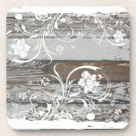 Old Wood Shabby Chic Coasters