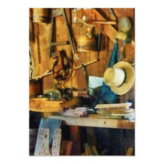 Old Wood Shop Card