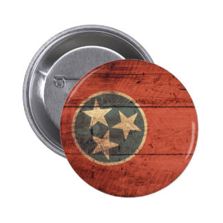Old Wood Tennessee Flag Pin