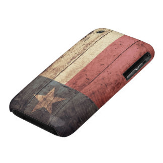 Old Wood Texas Flag iPhone 3 Case-Mate Case