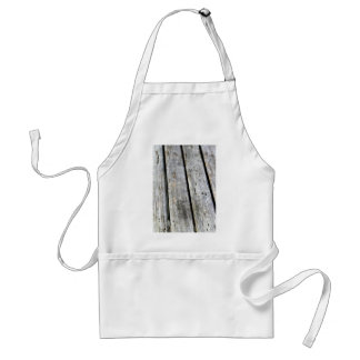 Old Wood Texture Apron