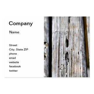 Old Wood Texture Large Business Cards (Pack Of 100)