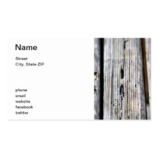 Old Wood Texture Business Card Templates