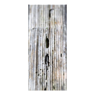 Old Wood Texture Rack Card