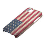Old Wooden American Flag iPhone 5 Cases