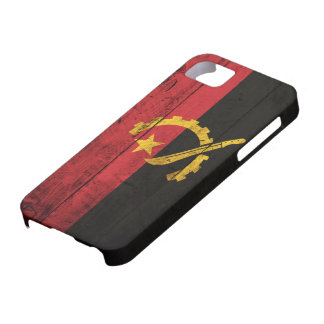 Old Wooden Angola Flag iPhone 5 Cases