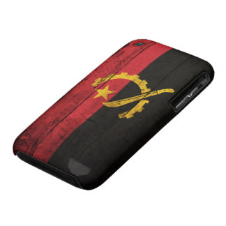 Old Wooden Angola Flag iPhone 3 Cases