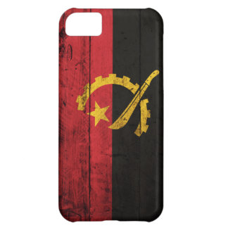 Old Wooden Angola Flag iPhone 5C Cover