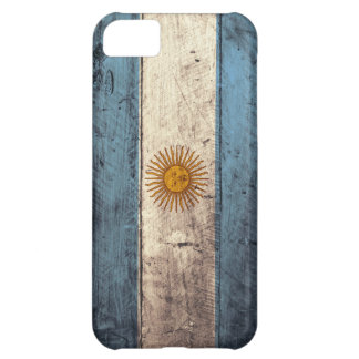 Old Wooden Argentina Flag iPhone 5C Case