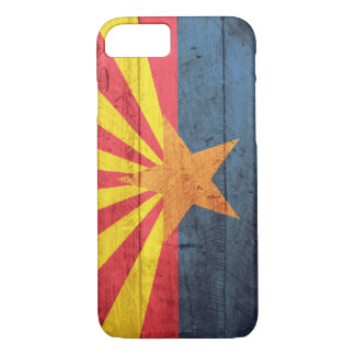 Old Wooden Arizona Flag iPhone 7 case
