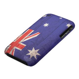 Old Wooden Australia Flag Case-Mate iPhone 3 Case