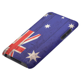 Old Wooden Australia Flag Case-Mate iPod Touch Case