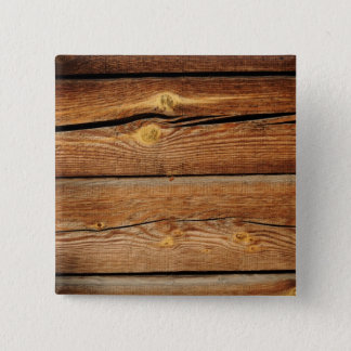 Old Wooden Background Pinback Button