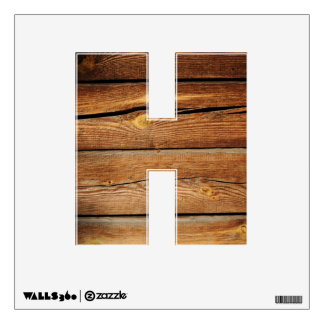 Old Wooden Background Wall Sticker