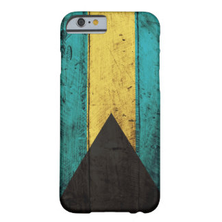 Old Wooden Bahamas Flag Barely There iPhone 6 Case