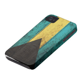 Old Wooden Bahamas Flag iPhone 4 Covers