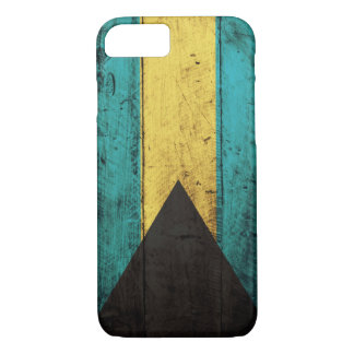 Old Wooden Bahamas Flag iPhone 8/7 Case