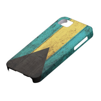 Old Wooden Bahamas Flag iPhone SE/5/5s Case