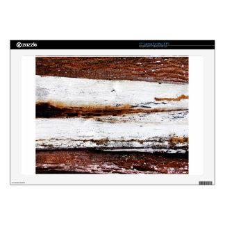 Old Wooden Bark Laptop Skin