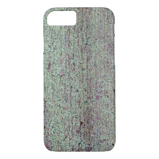 Old wooden board with green mold iPhone 8/7 case