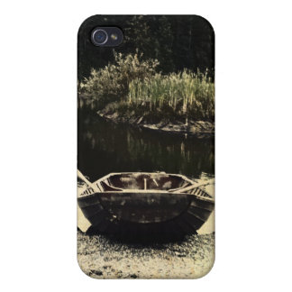 Old Wooden Boat by Uncle Junk iPhone 4/4S Covers