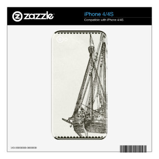 Old Wooden Boat iPhone 4/4S Skin iPhone 4 Skins