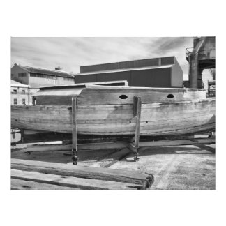 Old Wooden Boat Photo Print