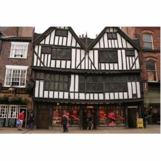 Old Wooden Building In York Standing Photo Sculpture