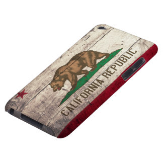 Old Wooden California Flag iPod Touch Case