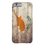Old Wooden Cyprus Flag Barely There iPhone 6 Case