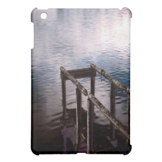 Old Wooden Dock Over Water with Mist Case For The iPad Mini
