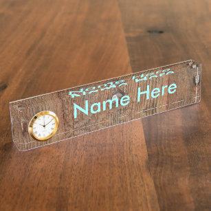 Door Desk Name Plates | Zazzle
