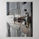Old Wooden Door Print