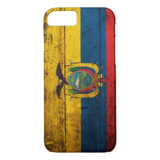 Old Wooden Ecuador Flag iPhone 7 Case