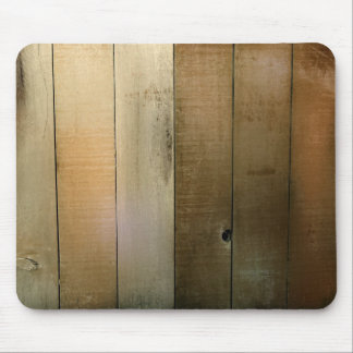 Old Wooden Fence Mouse Pad