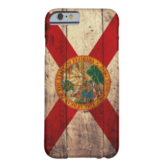 Old Wooden Florida Flag; Barely There iPhone 6 Case