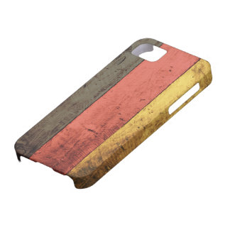 Old Wooden Germany Flag iPhone 5 Cover