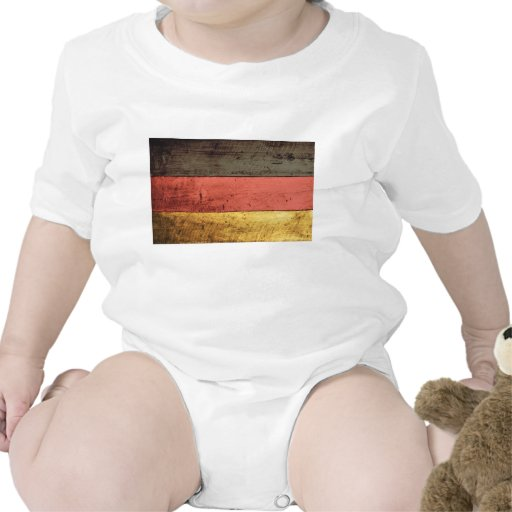 Old Wooden Germany Flag Creeper