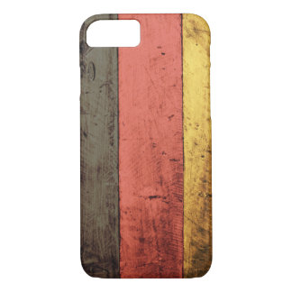 Old Wooden Germany Flag iPhone 8/7 Case